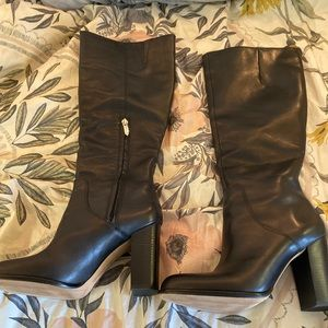 Sam Edelman Black Regina Boot